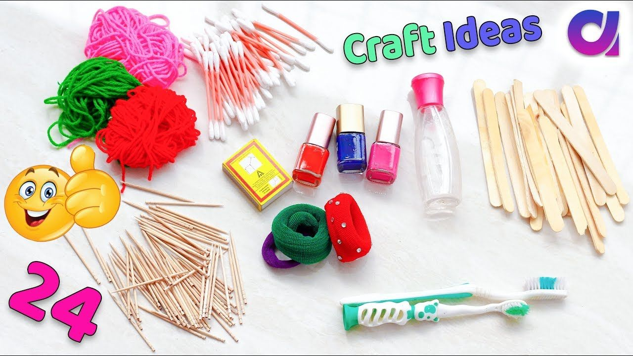 24 Genius Crafts Idea To Make In 5 Minutes Best Out Of Waste