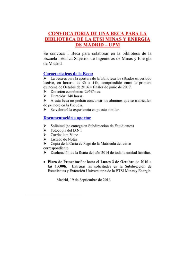 BECA BIBLIOTECA CURSO 16-17