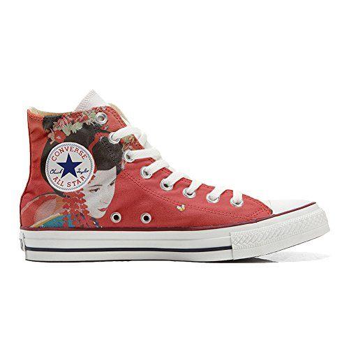 Converse All Star personalisierte Schuhe (Handwerk Produkt) Geisha 2 - http://on-line-kaufen.de/make-your-shoes/converse-all-star-personalisierte-schuhe-geisha-2
