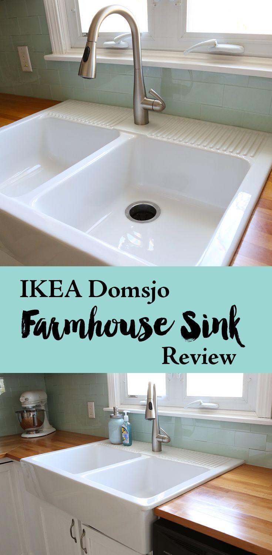 Ikea Domsjo Farmhouse Sink 1 Year Review | Sinks, Funky junk and ...