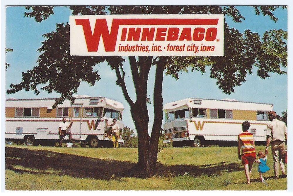 OK TULSA Oklahome ca.60s/70s WINNEBAGO MOTOR HOMES Dealer