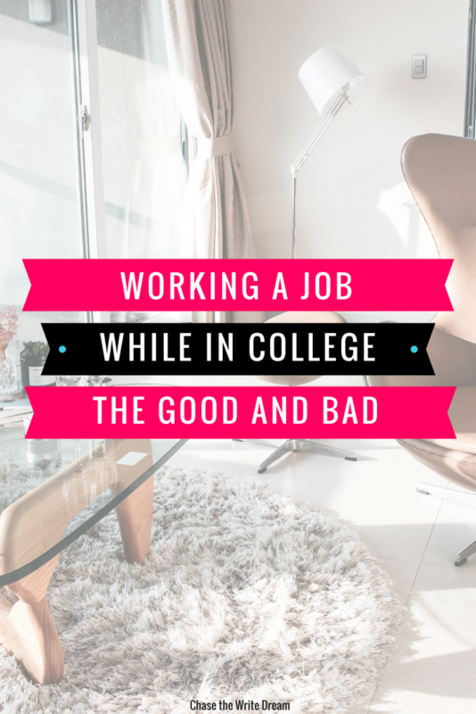 Working a job in college: the good and bad   Build career skills as a college student by getting a job and developing work experience that teaches you money management, time management, and more.