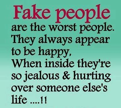 Fake People Jealous Quotes Fake People Quotes Fake People