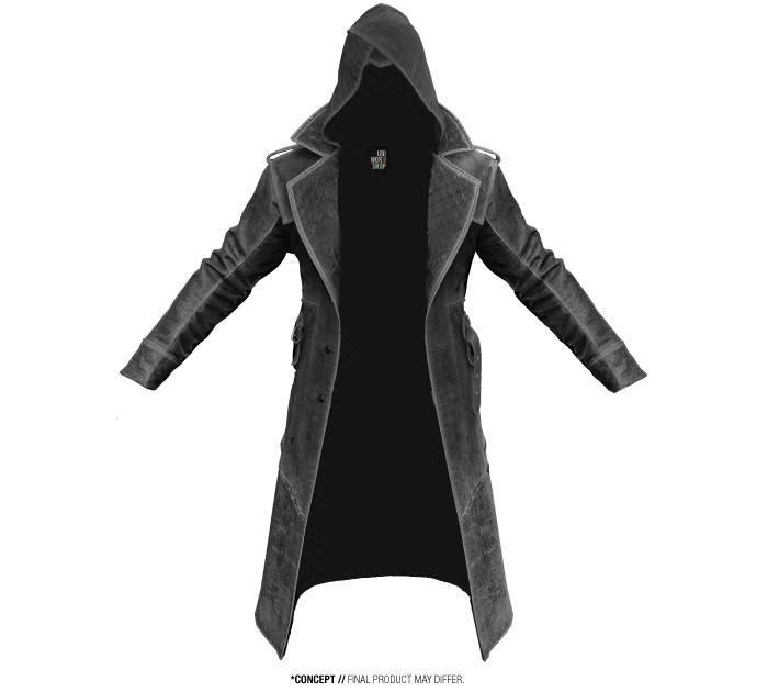 Jacob Coat Assassins Creed Clothing Assassins Creed Costume Assassins Creed