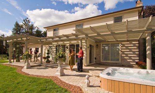 Patio Pergola Ideas | ... Custom Designed Sunrooms, Patio Covers And  Basement Finishing
