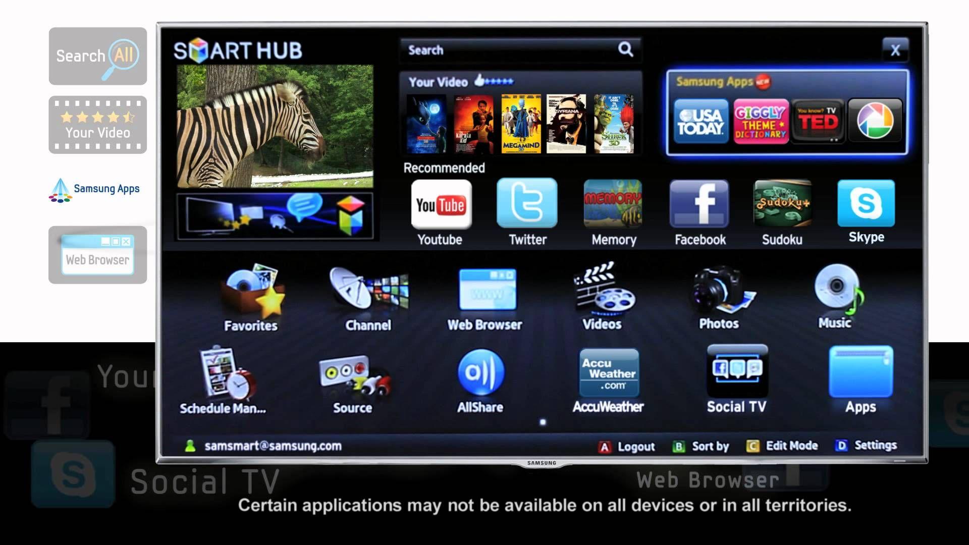 smart hub youtube