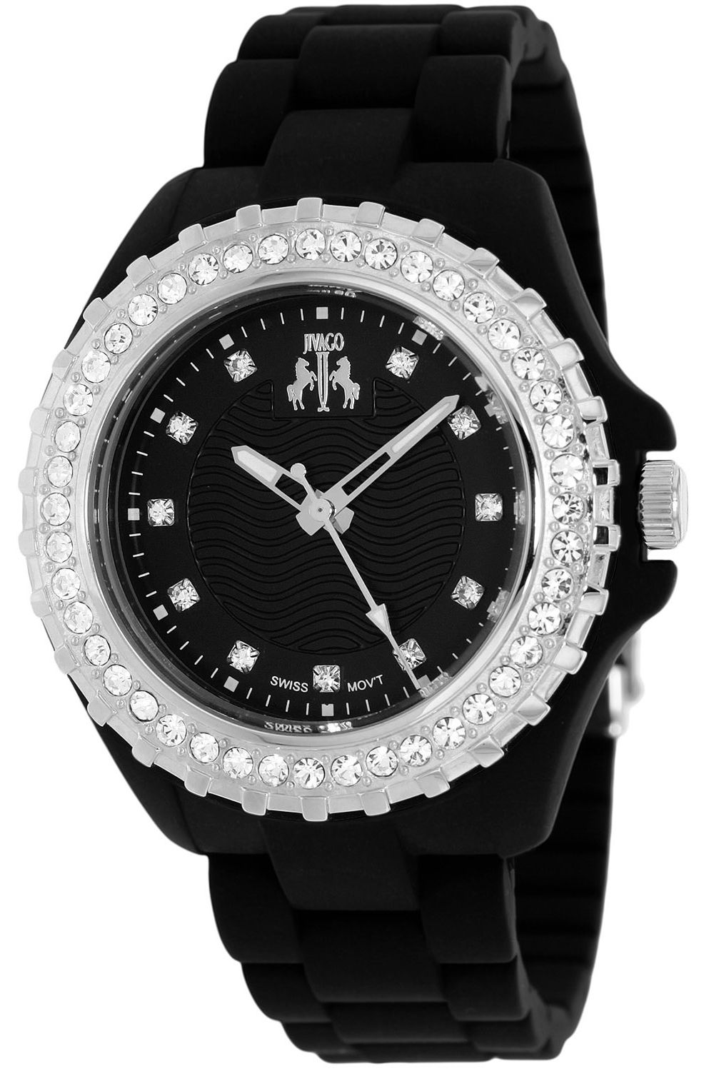 Perfect combination of classy and playful with this Jivago woman\'s watch