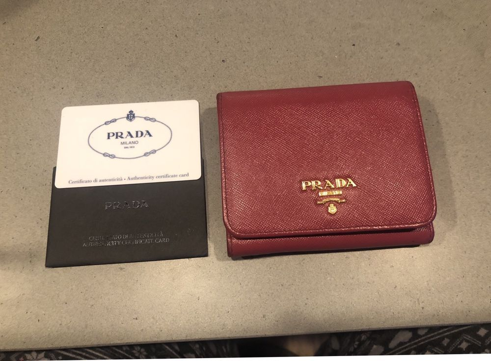 42a1a4208bd5fe PRADA tri-fold wallet SAFFIANO leather pink #fashion #clothing #shoes # accessories #womensaccessories #wallets (ebay link)
