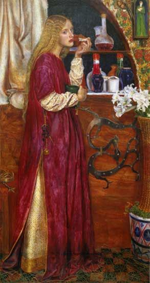 The Queen Was In Her Parlour Eating Bread and Honey, Valentine Cameron Prinsep