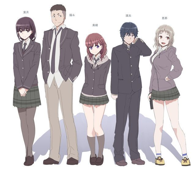 Pine Jam Anime Just Because Gets First Pv Major Characters Staff By Mike Ferreira Anime Anime Characters Anime Character Design