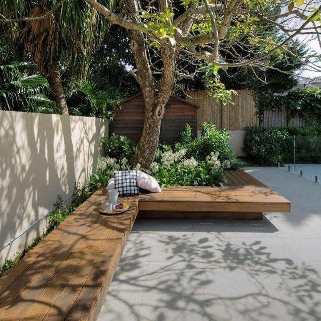 27 Awesome Outdoor Bench Projects | Small backyard ...