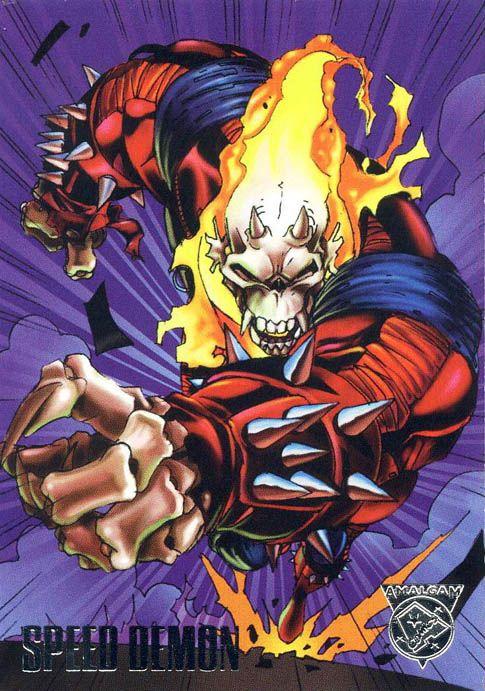 Speed Demon - Ghost Rider + The Flash  Marvel / DC Amalgam