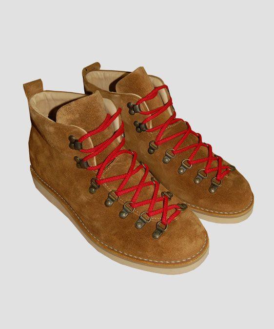 Fracap M120 Scarponcini Boots Camel Suede