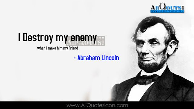 Famous Abraham Lincoln Quotes in English HD Wallpapers