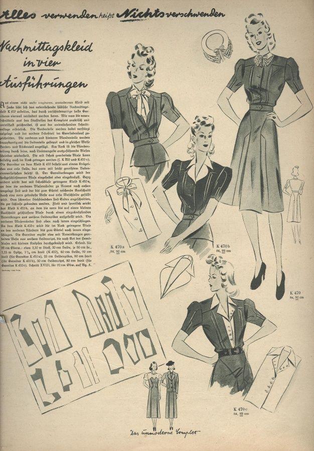 Deutsche ModenZeitung 1940 02 / Издания 19401949