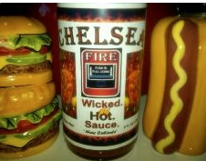 Chelsea Fire Hot Sauce #madeinnewengland  Buffalo Chicken Chili   - Fuggs and Foach