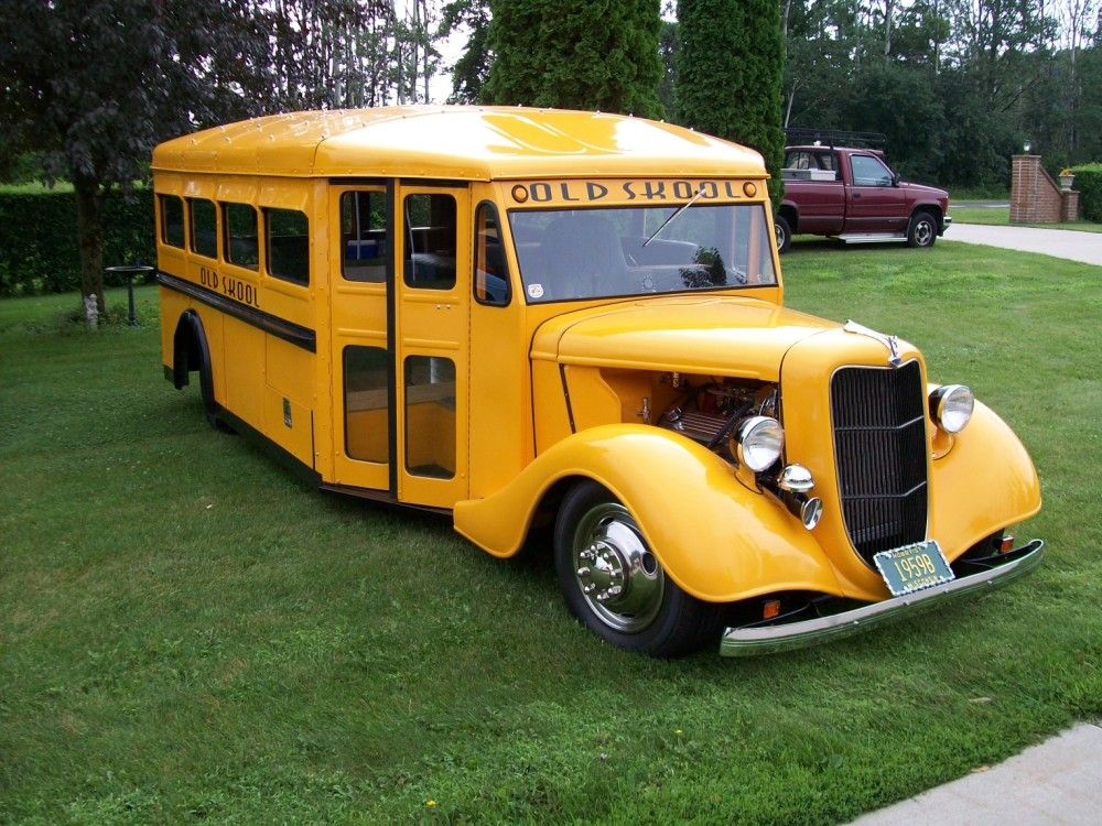 1936 Old Skool Bus For Sale Custom Street Rod By | TRUCKS, OFF ...