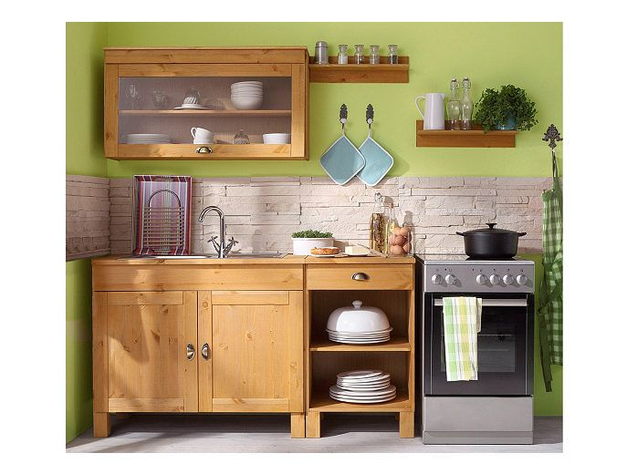 Home affaire KüchenSet »Oslo«, (5tlg), ohne EGeräte