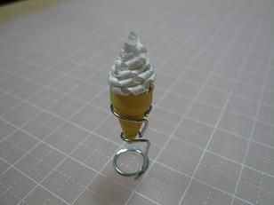 クイリング ice cream quilling