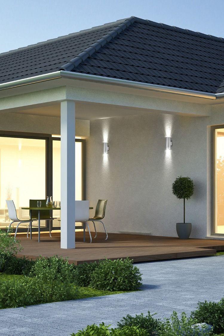 Led Wand Haustur Beleuchtung Fur Aussen Aussenwandbeleuchtung Landhaus Aussenbereich Aussenbeleuchtung Haus