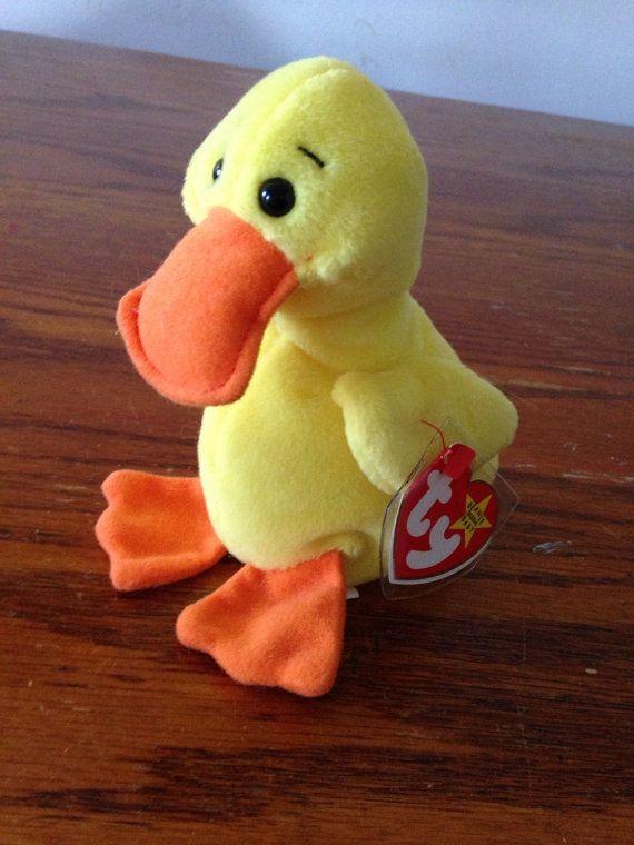 Rare Ty Beanie Baby Quackers  93 FREE USA SHIPPING 5c9895ade9ce