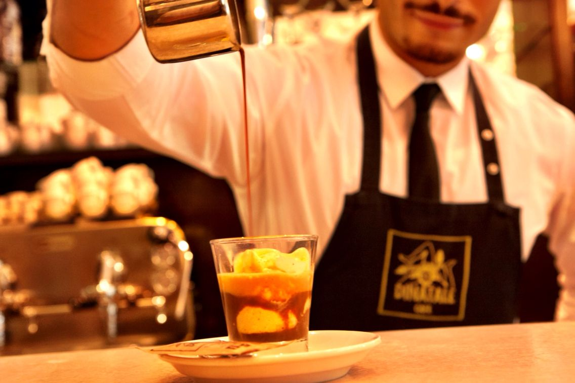 Caffè Affogato Vanilla Icecream