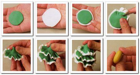Part 1 - how to create a christmas tree, come fare un albero di natale , como hacer un pino <3