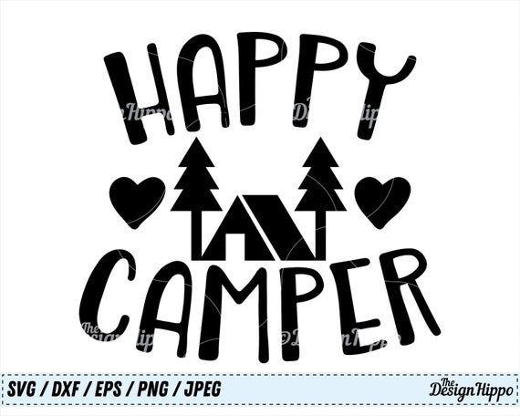 Download Camper svg, Happy Camper svg, Camping svg, Summer svg ...