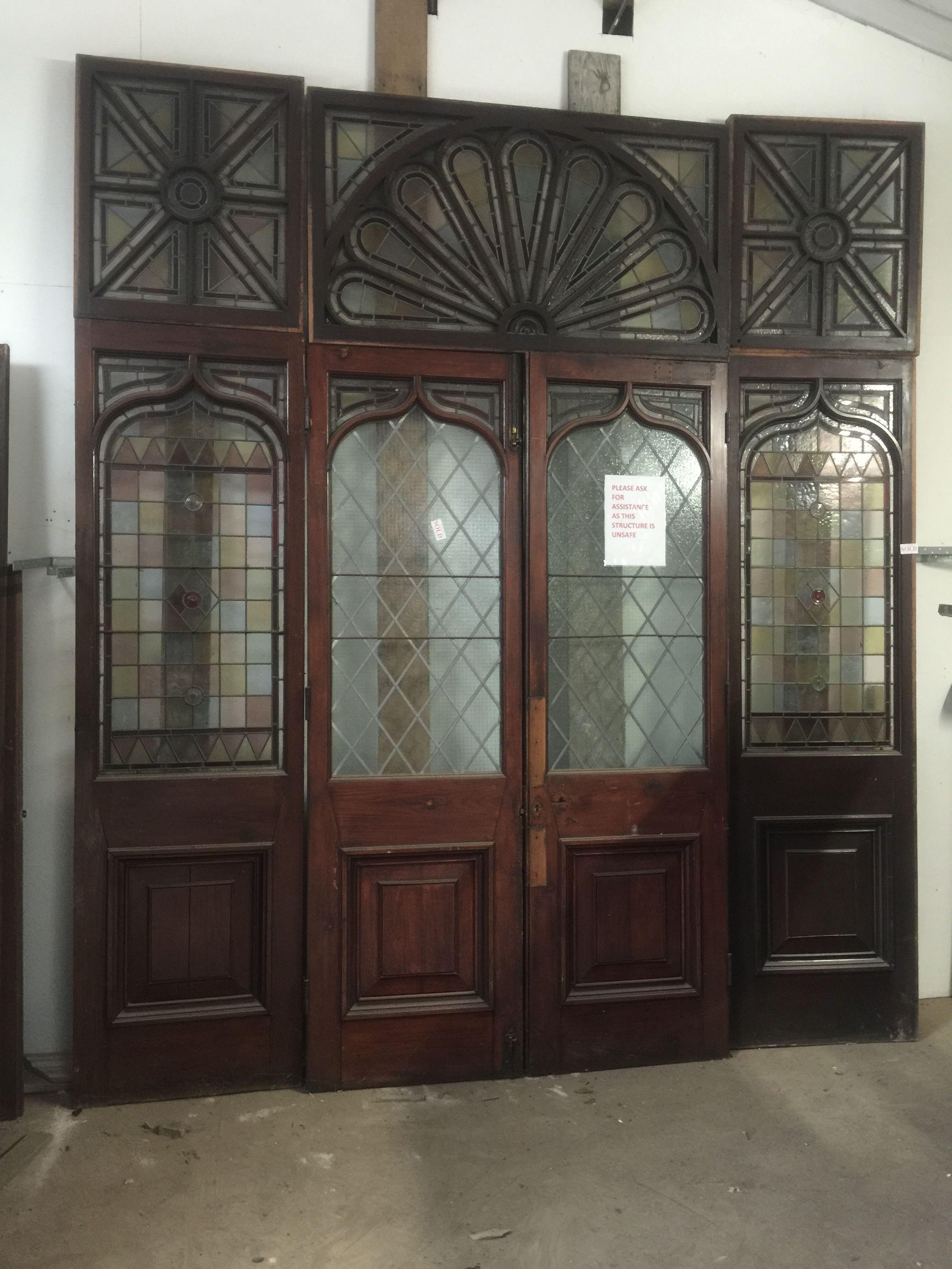 Victorian Stain Glass Doors Antique Doors Pinterest Antique