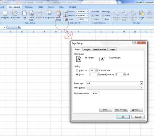How to print from Microsoft Excel Education-Excel Pinterest