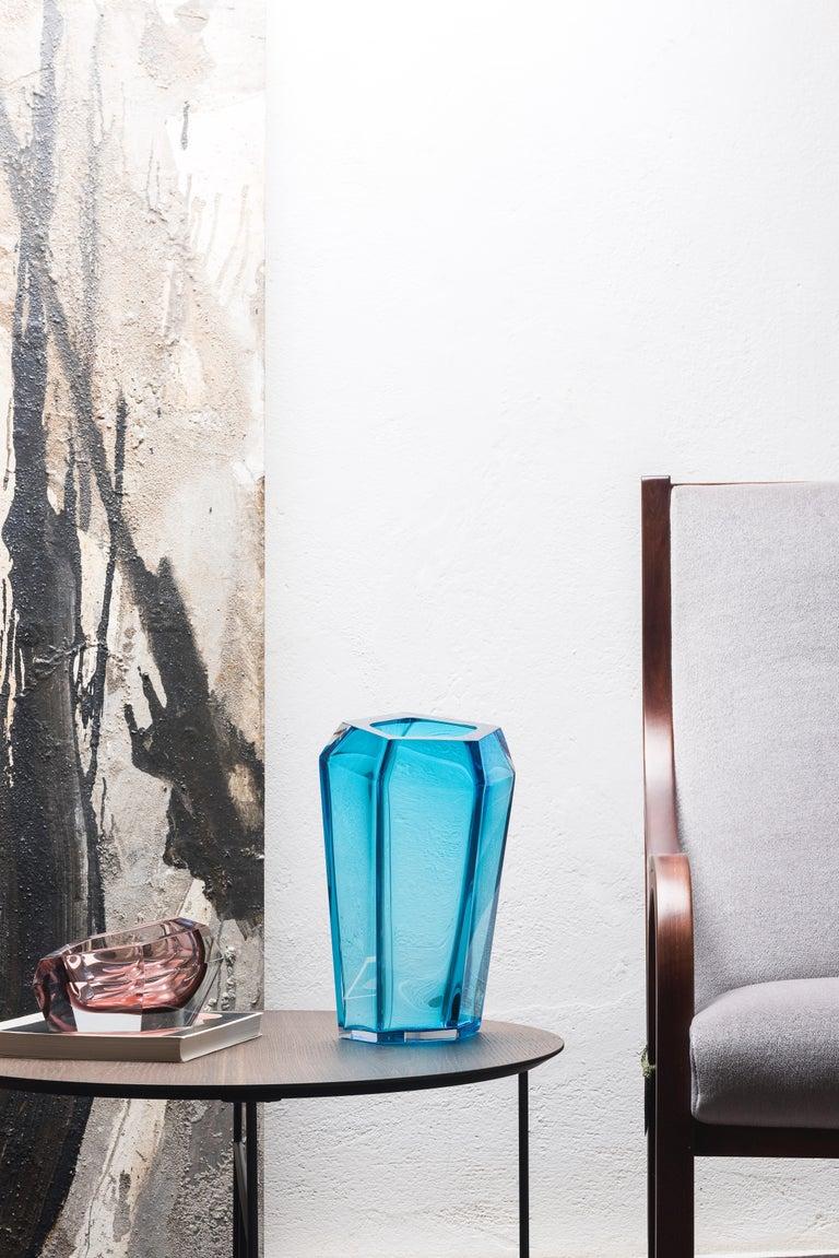 Kastle Vase In Murano Glass By Karim Rashid In 2020 Contemporary Design Murano Glass Vase Murano Glass