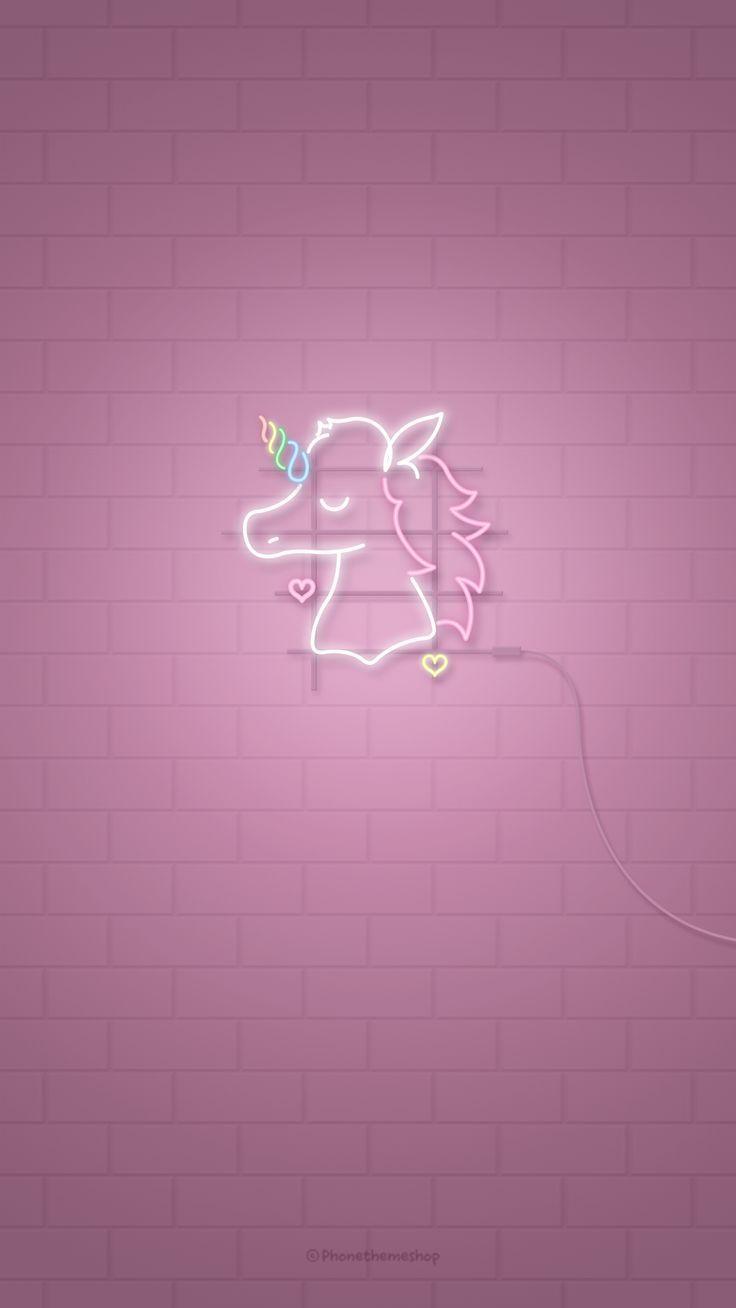 Unicorn Gambar Dinding Wallpaper Ponsel Kertas Dinding
