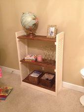 Photo of #bookshelf #DIY #Repurposed #Shutter #Shutters #shutters