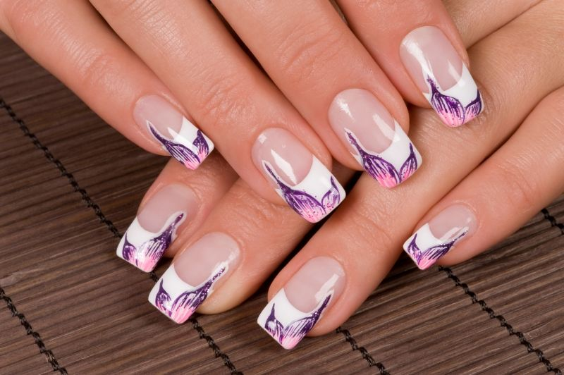 New French Manicure Designs Lovely French Manicure Nail Art Ideas