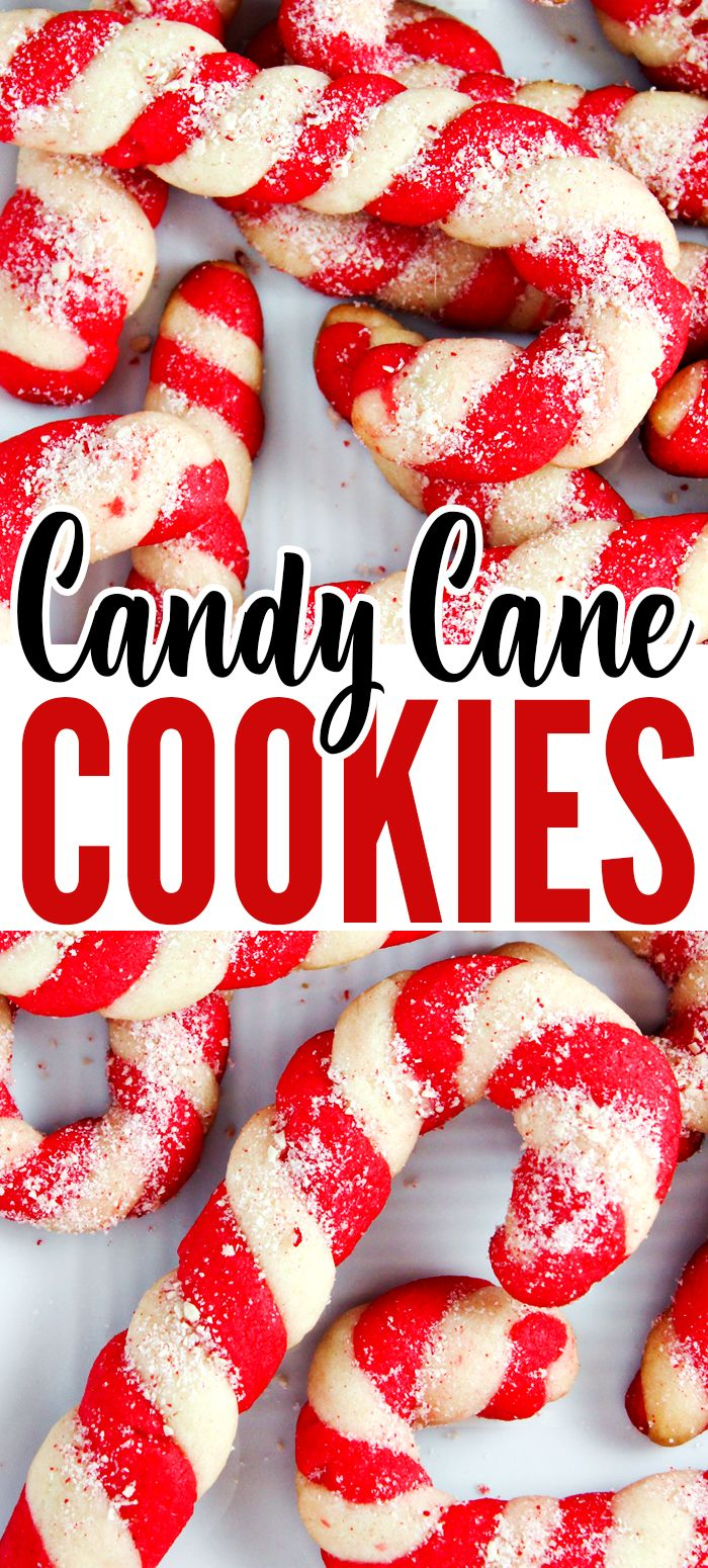 Christmas Candy Cane Cookies Recipe