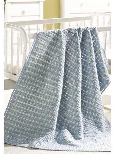 Simple Crochet Baby Blanket Crochet Inspiration Pinterest