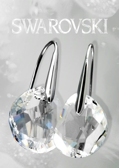 Swarovski Galet Pierced Earrings