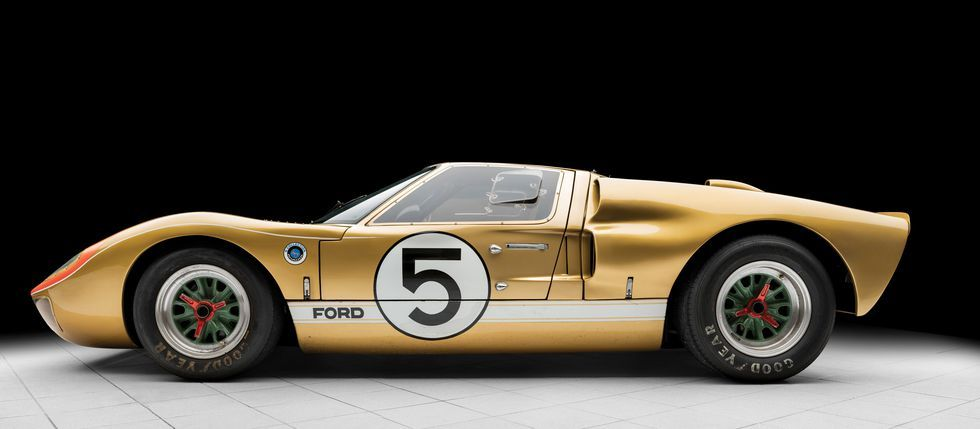 You Can Buy One Of The Gt40s That Beat Ferrari At Le Mans Ford