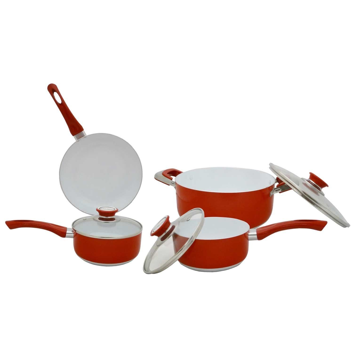 Cookware gt see more select by calphalon ceramic nonstick 8 inch an - Concord Cookware Cn700 7 Piece Eco Healthy Ceramic Nonstick Cookware Set Find