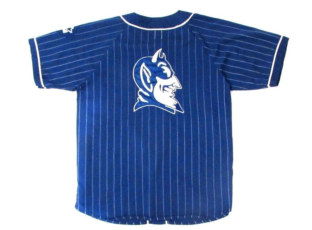 new arrival 7a0e7 aea49 90s Duke Blue Devils Starter Baseball Jersey | Vintage ...