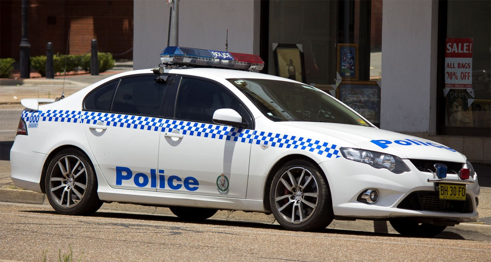 2011 Ford Fg Falcon Xr6 Turbo New South Wales Police Force
