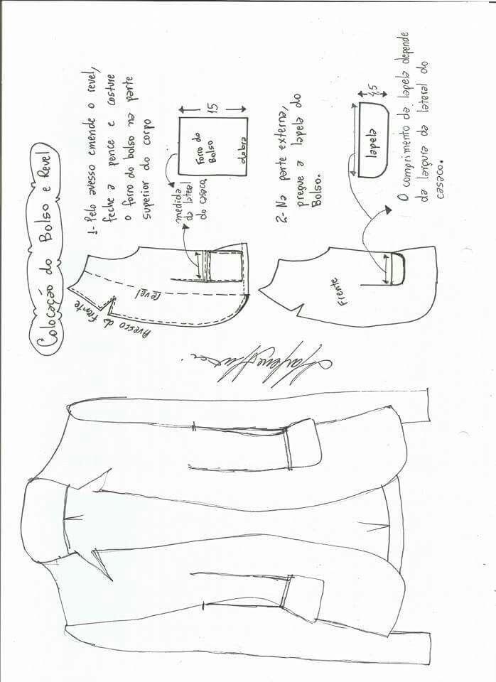 Pin de Rat Tang en pattern   Pinterest   Patrones, Costura y Chaquetas