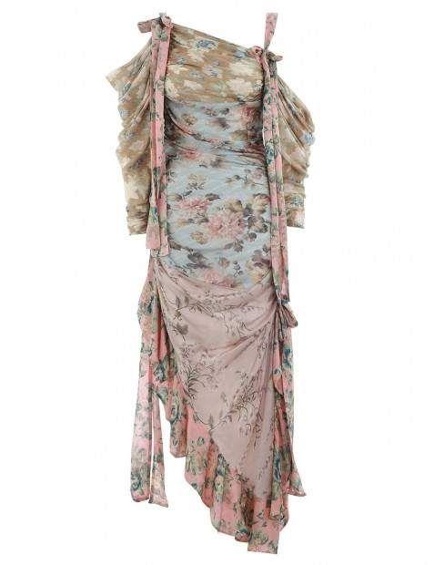 41a2c13a8b0c2 Zimmermann Unbridled Elixir Silk Dress | Polyvore in 2019 | Dresses ...