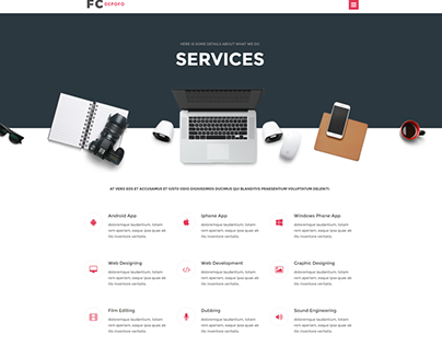 """Check out new work on my @Behance portfolio: """"design company template"""" http://be.net/gallery/43851229/design-company-template"""