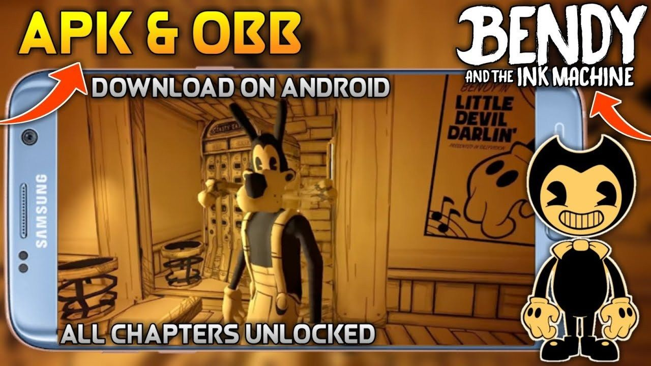 Bendy And The Ink Machine Mod Apk Obb Free Download Coisas