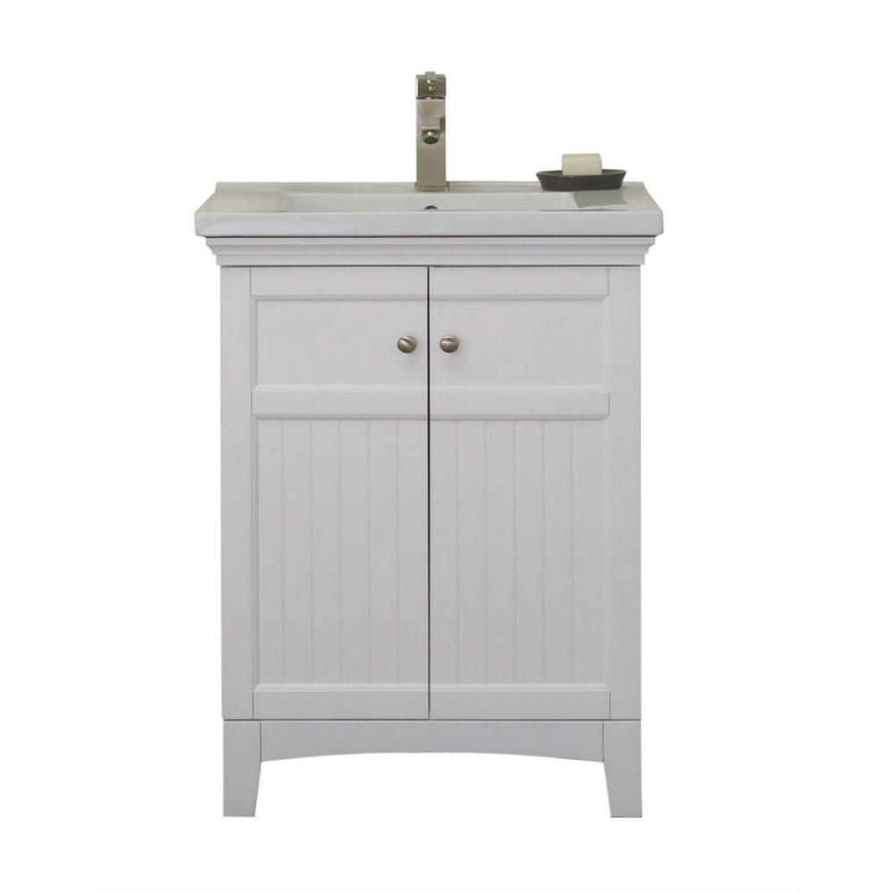in vanity white with porcelain top also keystone inch  ensemble matte finish rh pinterest