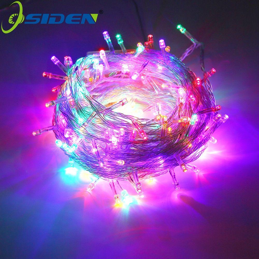 Led Weihnachtsbeleuchtung Baum.Osiden 33ft 10 Mt 100led Led Weihnachtsbeleuchtung Licht Baum Xmas