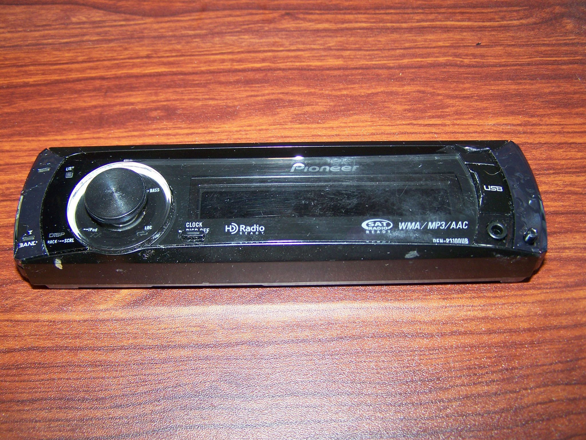 Pioneer Stereo Face Plate Replacement Model DEH-P3100UB faceplate DEHP3100UB DEH P3100UB