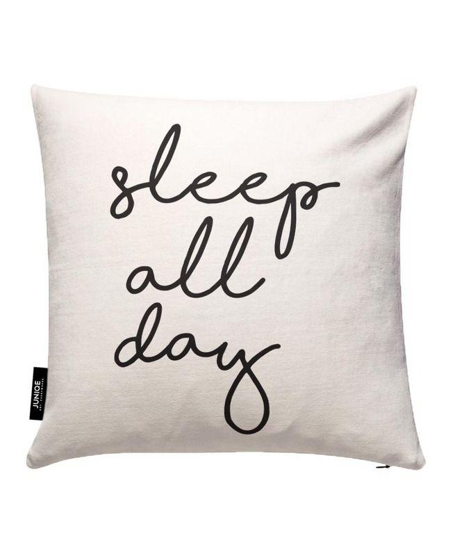 Sleep All Day The Motivated Type Kissenbezug Kissenbezuge