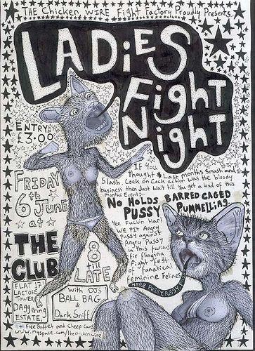 Ladies fight night on Flickr - Photo Sharing!